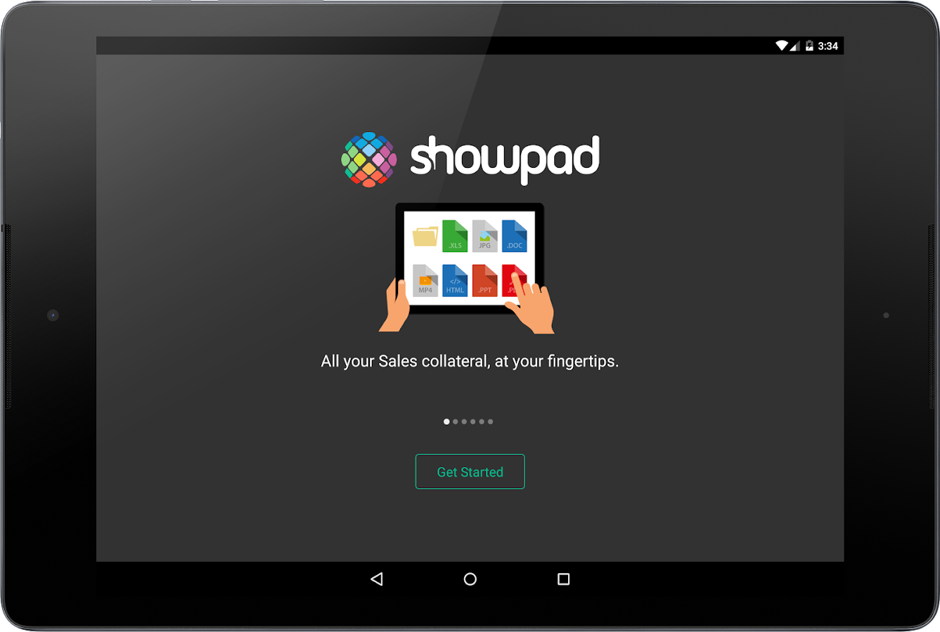 Showpad- screenshot