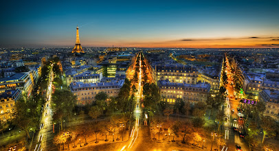 Photo: Less than 24 hours remain for the Big Deal for 2K worth of photography learning for $89 at http://goo.gl/xQ9mUU - then it goes away forever! Below is a photo I took of Paris while filming our Midnight in Paris tutorial that is included in that $2,000 package.  As for this shot, I'll tell you more about it!  These were not the ideal shooting conditions, as idyllic as the scene might appear. This is all handheld, btw, no tripod, and here's the rest of the sad tripod story.  To get to this spot, you have to walk to the top of the Arc de Triomphe. My first few times there, I did not even know you could get to the top! I felt quite dumb when I found out you can walk up about 20,000 stairs to get here.  Once I got up there, I staked out a position with my tripod, and then Frenchy McFrenchface came over and told me I could not use my tripod. I explained that I was an arteeeest, and surely he would in the 19th century no one asked the impressionists to put their easels away. This was a losing argument, although I still think it's a pretty good one. It will work one day, and I won't give up this line of persuasion.