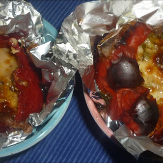 Stuffed Peppers with Bolognese.