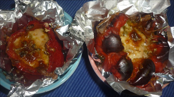 Stuffed Peppers with Bolognese Recipe