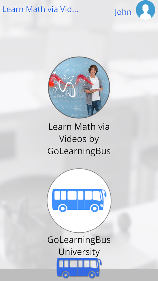 Learn Math via Videos- screenshot