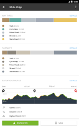Komoot — Cycling, Hiking & Mountain Biking Maps APK screenshot thumbnail 4