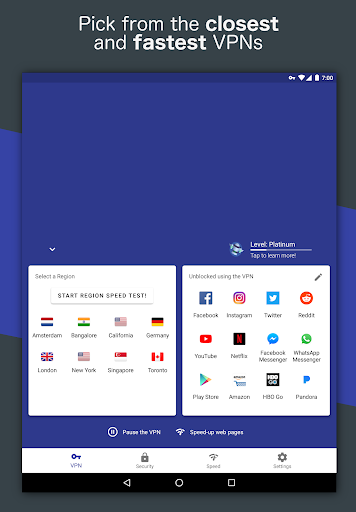 Free and Unlimited VPN - Safe, Secure, Private! 6.3.1003 screenshots 15