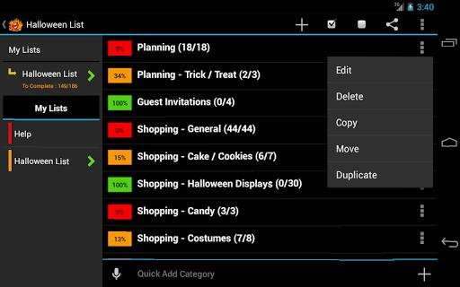 Halloween Planner