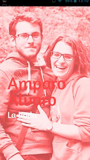 Álvaro y Amparo La boda