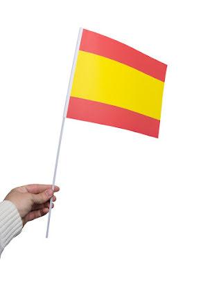 Pappersflagga, Spanien