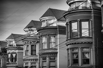 Photo: Memory Lane San Francisco, CA. 2012.  If these walls could speak, what would they say?  #sanfrancisco #thehaight #vicotrian #blackandwhitephotography #bwfineartle