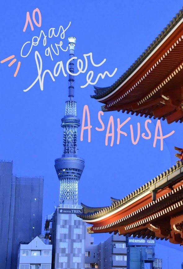 que ver y hacer en Asakusa