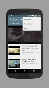Instant Play (YT) for android screenshot