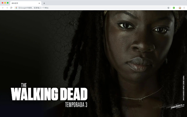 Walking Dead Pop HD Series New Tabs Theme