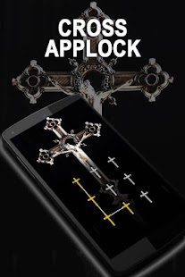 AppLock Theme Cross - náhled