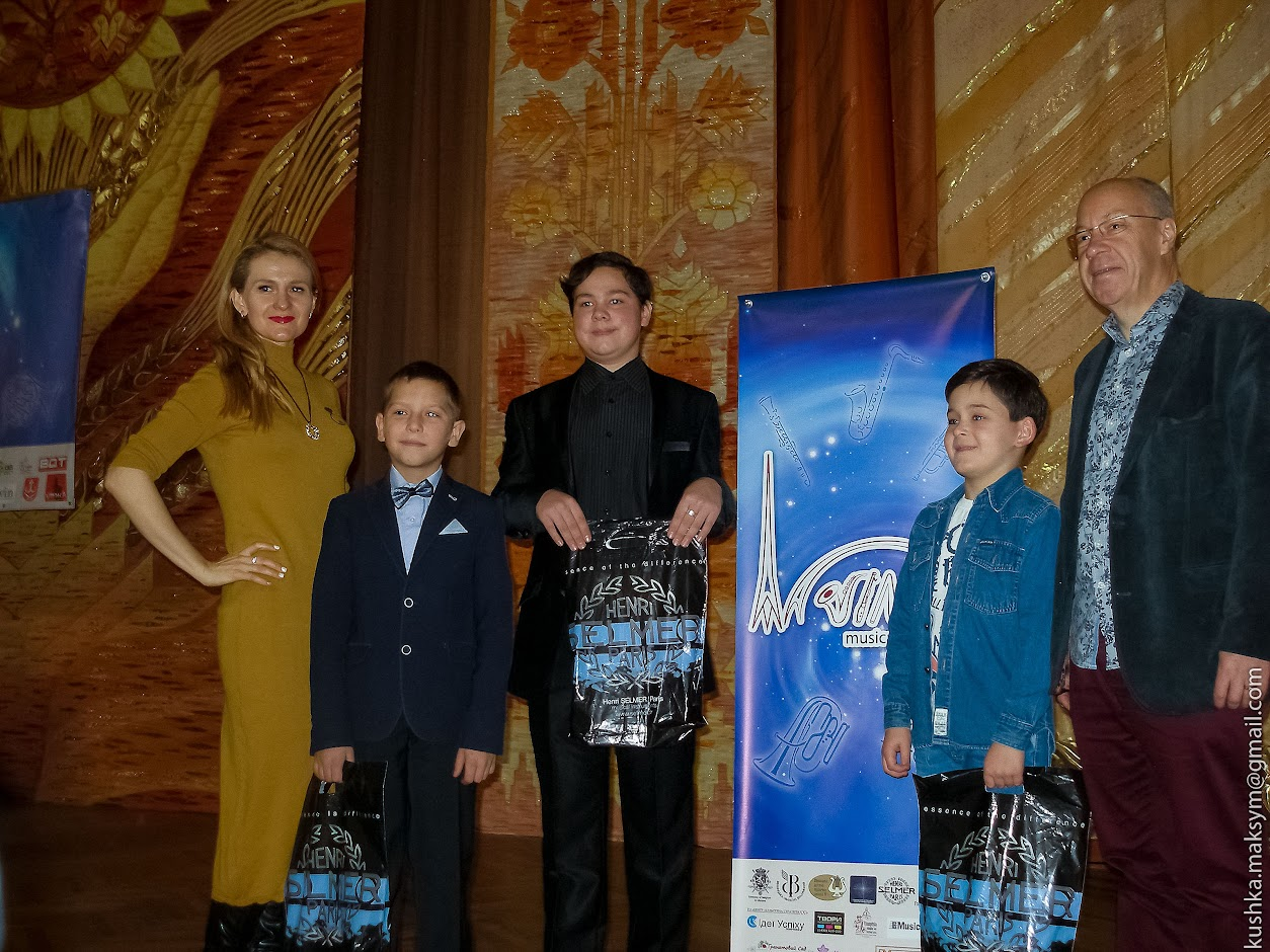 П'ять днів четвертого міжнародного фестивалю саксофонної музики ім. Адольфа Сакса