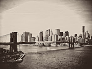 """Photo: """"Creased by time...""""  The outline of the city's memory rests in dreams so delicate they are paper thin and creased by time.  As hope escapes from excited utterances of urban dreamers, it etches itself into every structure: a permanent impression emblazoned on the cityscape secured in the vault of eternity.    New York Photography: The Brooklyn Bridge and New York City skyline.    You can view this post along with information about prints of this image if you wish at my site here:  http://nythroughthelens.com/post/17784867336/the-brooklyn-bridge-and-the-skyscrapers-of-the  -  Tags: #photography #newyorkcity #nyc #manhattan #skyline #cityscape #city #brooklynbridge #newyorkcityskyline #writing #prose #poetry #skyscrapers #landscape #architecture"""