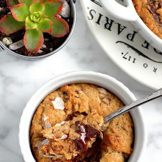 Whole Wheat Chocolate Chip Cookies (in Ramekins)