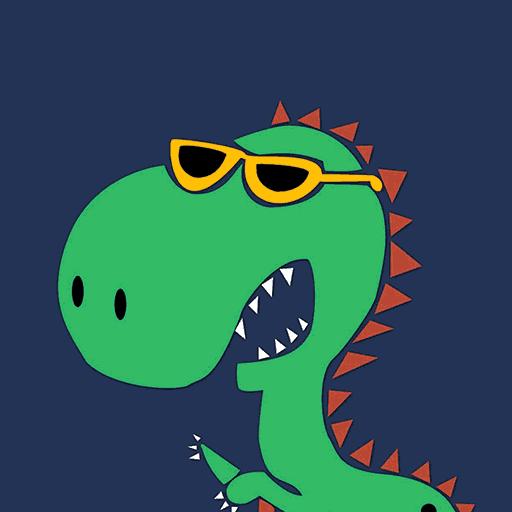 녹색 공룡 아기 漫畫 App LOGO-硬是要APP