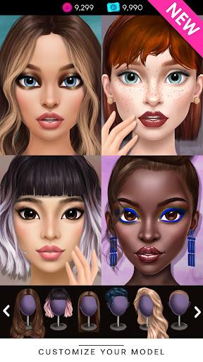 GLAMM'D - Fashion Dress Up Game  screenshots 1