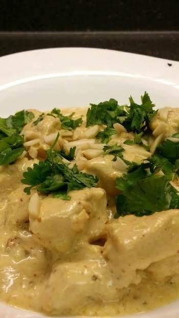 Chicken Korma - Lighter Recipe