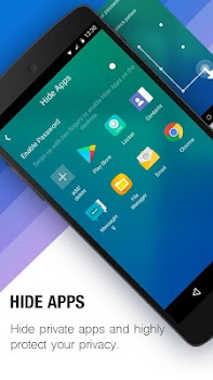 APUS Launcher-ThemesandWallpapers, Boost, Hide Apps