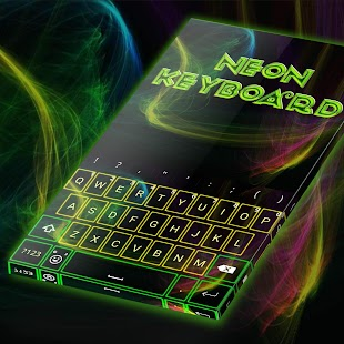 Neon Keyboard - náhled