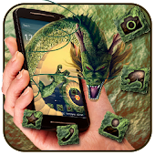 Magic Green Dragon Theme