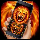 Unduh Flame Tiger Keyboard Gratis