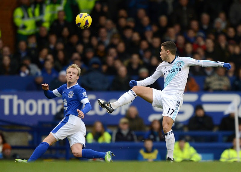 Photo: Hazard challenges for the ball
