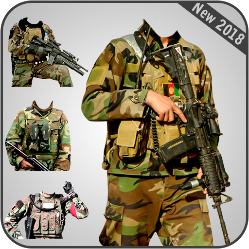 Afghan Army Suit Editor - Uniform changer 2017 app (apk) free download for Android/PC/Windows