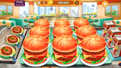 Cooking Crush: New Free Cooking Games Madness apktreat screenshots 1