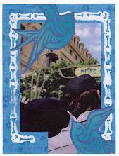 Photo: Wenchkin's Mail Art 366 - Day 175, card 175a