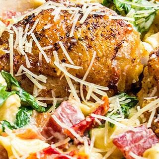 One-Pot Creamy Chicken Tortellini Recipe