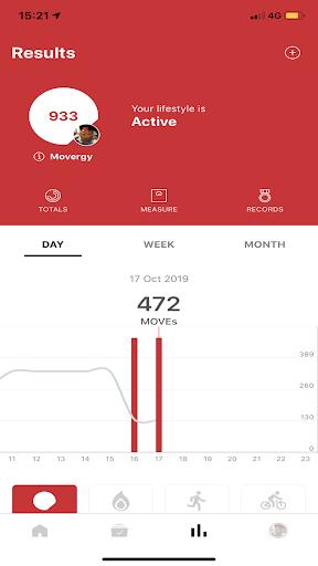 Screenshots der Universal Fitness Group 4