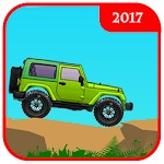 Jeep Climb Uphill Racing Icon