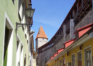 Photo: There is a walking tour that you can take and walk around on the city walls.