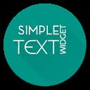 Simple Text Widget (Any Text) APK