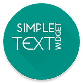 Simple Text Widget (Any Text)