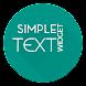 カスタムテキストウィジェット - Androidアプリ