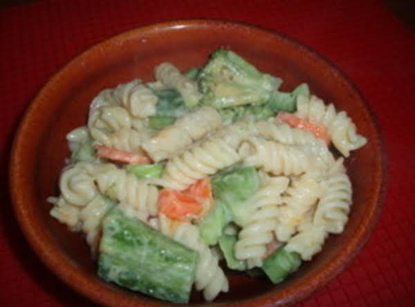 Cheddar Pasta And Vegetables Recipe