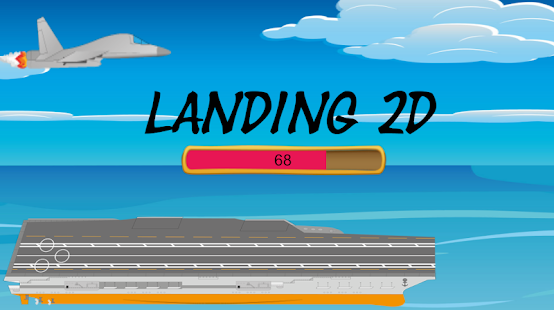 Pirate landing 2D - náhled