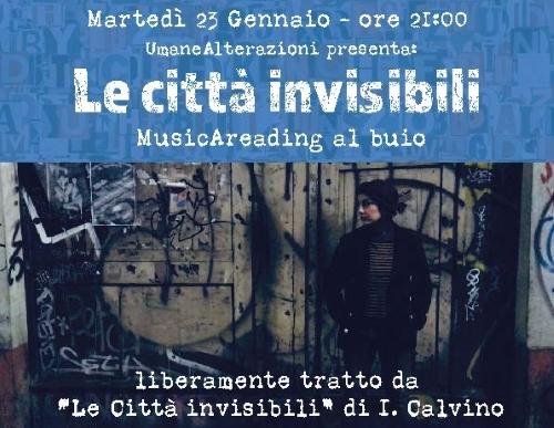 """Locandina """"Le Città Invisibili"""""""