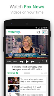 Watchup: Video News Daily Screenshot 3