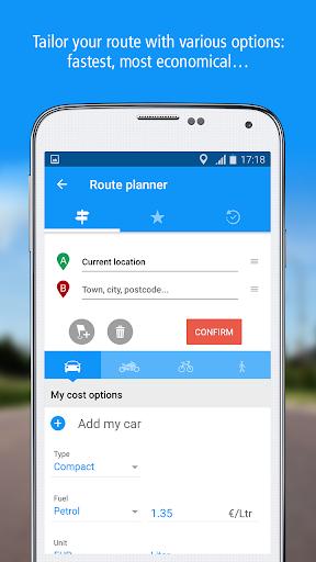GPS Traffic Speedcam Route Planner by ViaMichelin  screenshots 3