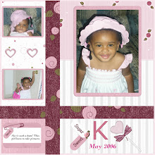 Photo: Made with Sweet As Cotton Candy Kit by Melany Violette Designer and owner of simplycleandigiscraps.com