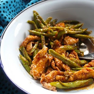 Weight Watchers Curried Chicken and Green Bean Casserole