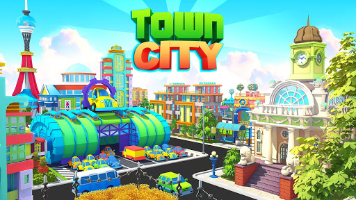 Town City - Sim Paradise Edifici del Villaggio  άμαξα προς μίσθωση screenshots 1