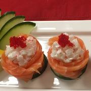 Salmon Rose Sushi