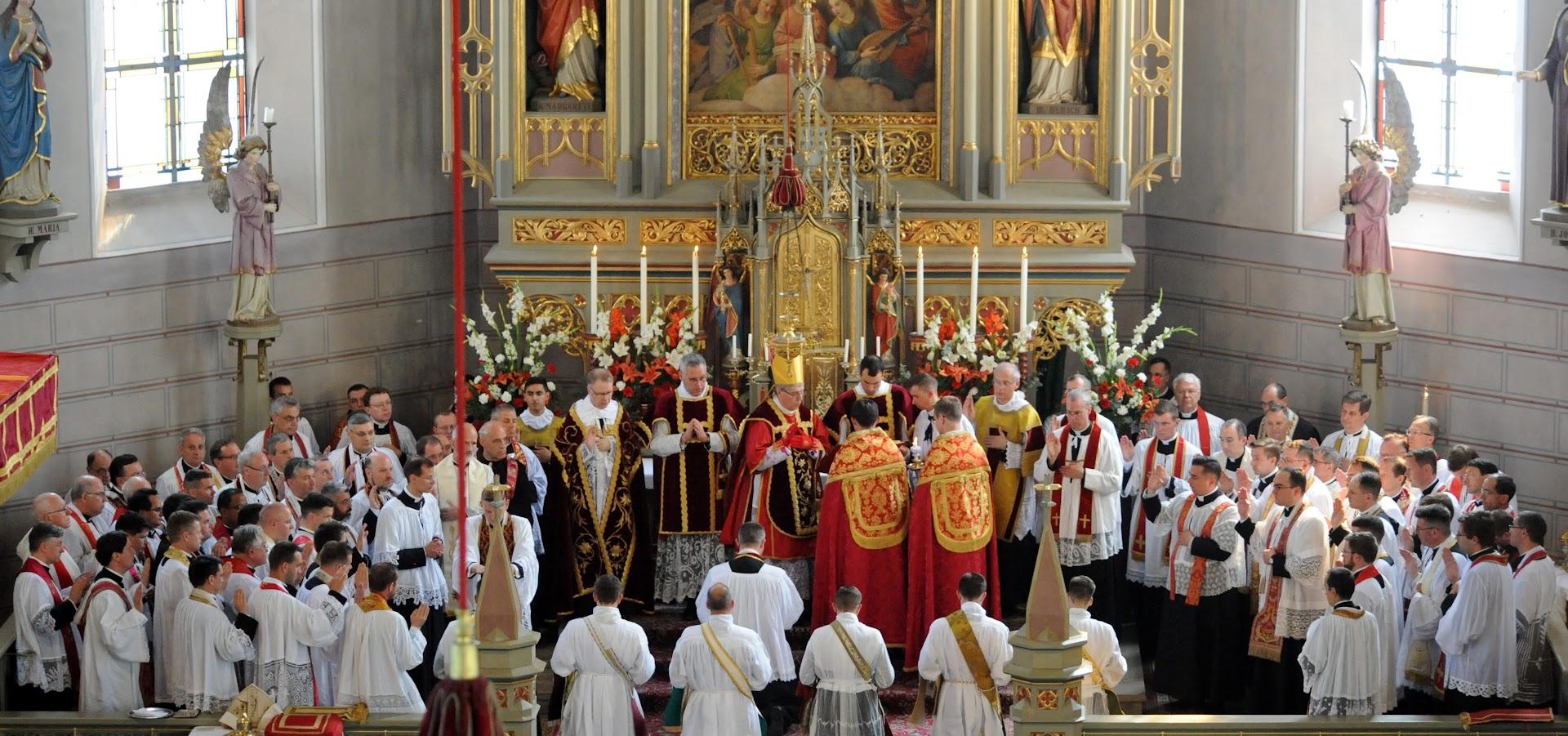St Mary's Sunday Bulletin 21st July 2019 - FSSP UK