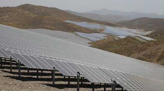 Proyecto para desarrollar el mayor parque solar de Almería