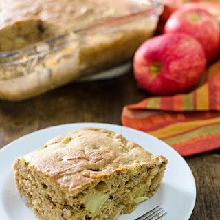 Easy Gluten-Free Apple Snack Cake.