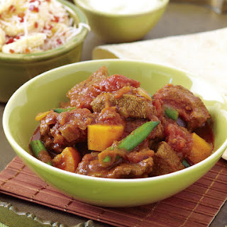 Beef Curry with Banana Sambal