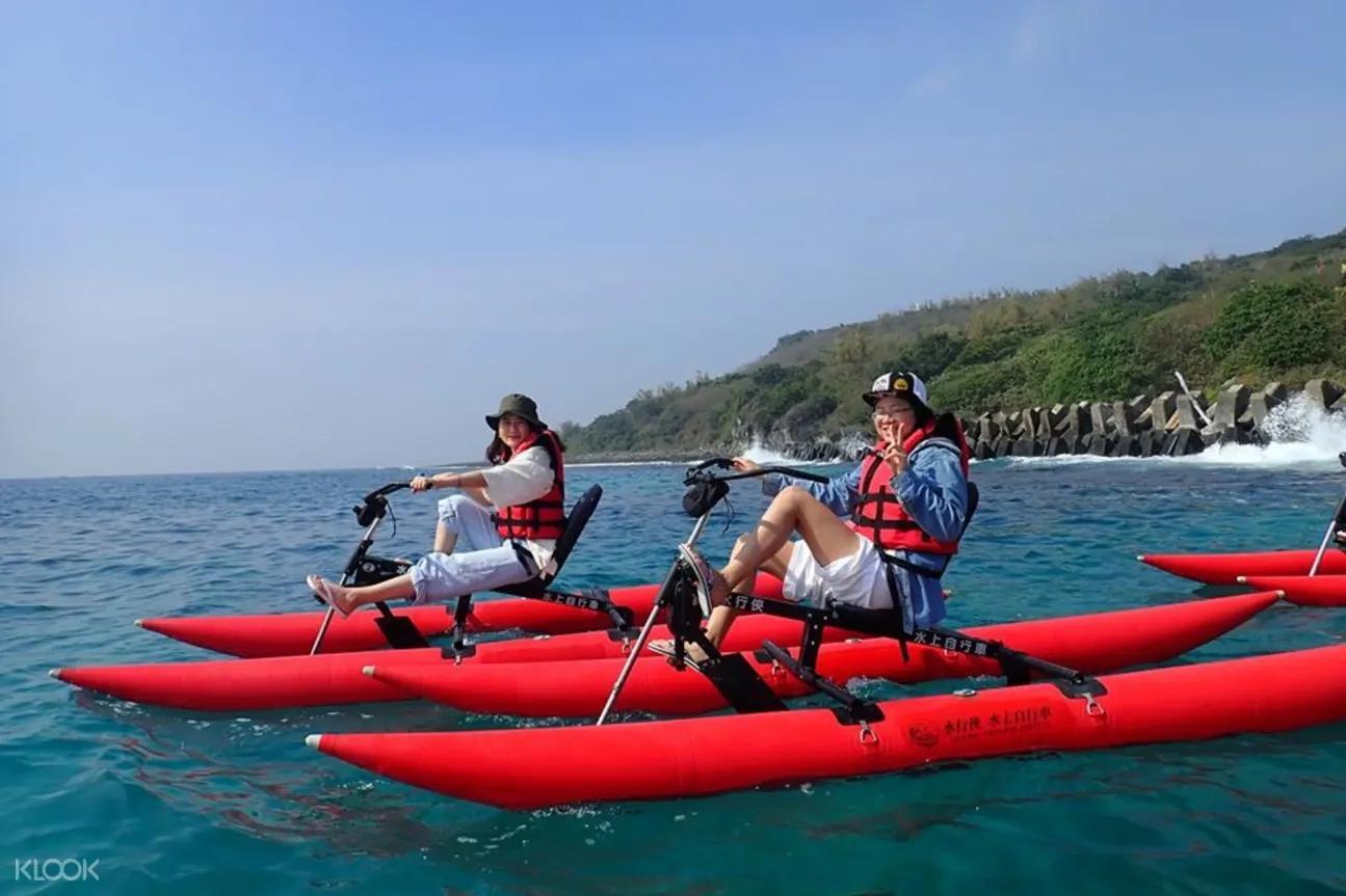 小琉球水行俠-水上自行車